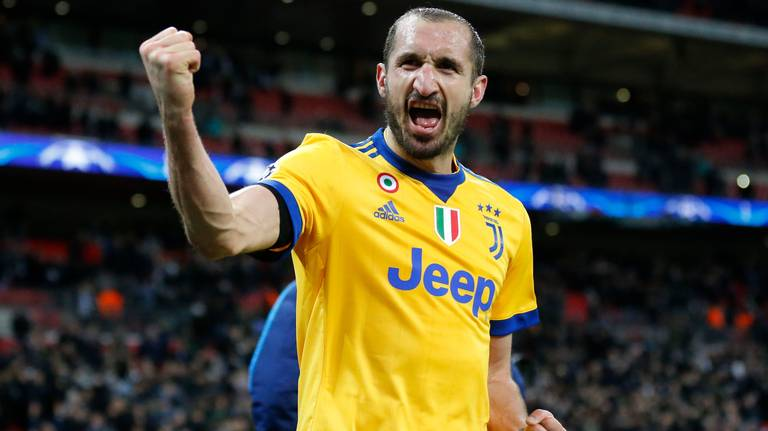 Capitán negociador, Chiellini gestiona recorte en Juventus